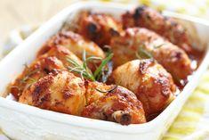 Jamoncítos de pollo con mostaza y miel