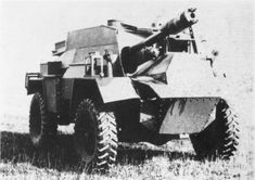 Humber 6 Pdr SP. Another British armored car armed with an autoloaded 6 Pdr gun. Also canceled after prototype phase like the Morris Firefly