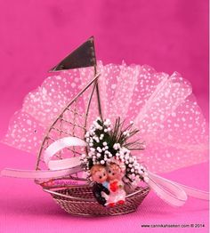 Biblolu Yelken Nikah Şekeri MT5 Wedding Candy, Christmas Crafts For Kids, Snow Globes, Favors, Simple, Cute, Gifts, Bachelorette Ideas, Mehendi