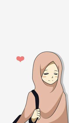Cute Couple Cartoon, Girl Cartoon, Muslim Pictures, Queen Drawing, Hijab Drawing, Moslem, Islamic Cartoon, Anime Muslim, Hijab Cartoon