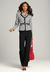 Professional Business Attire For Young Women | should dress like employees in keeping with the company's dress ...