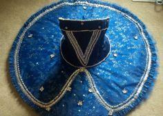 classical ballet tutu - blue