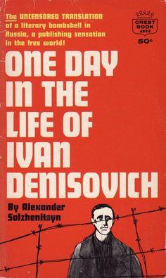 Kuvahaun tulos haulle One Day in the Life of Ivan Denisovich