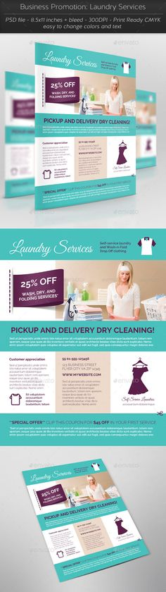 Laundry services flyers templates laundry service flyer business promotion laundry services pronofoot35fo Image collections