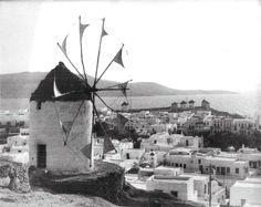1936 ~ Mykonos sland (by Eli Lotar) Old Time Photos, Old Pictures, Mykonos Greece, Athens Greece, Greece History, Myconos, Top Destinations, Greek Islands, Greece Travel