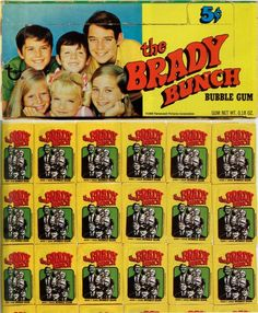 The Brady Bunch Bubble Gum & Trading Cards, 1969