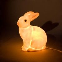 Rabbit lamp by Heico