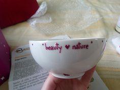 Un minunat castronel personalizat din ceramica in care voi prepara mastile  #buzzsecom