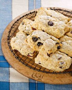 Oatmeal and Dried-Cherry Biscuit Scones