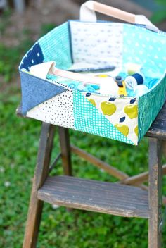 Get organized with a cute basket!