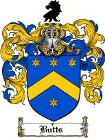 Butts Coat of Arms / Butts Family Crest