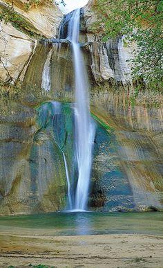 Calf Creek, Bryce Canyon, Utah More