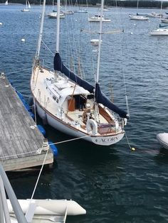 A One Owner Hinckley Bermuda 40 | YotLot Hinckley Boat, Practical Sailor, Boat Fashion, Block Island, Yacht Boat, Boat Building, Tall Ships, Over The Years, Sailing