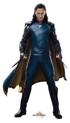 Loki Thor Ragnarock cardboard cutout standup