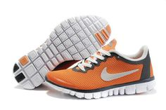 Buy Nike Free Mens Running Shoes Grey Orange 354574 066 with best discount.All Nike Free Mens shoes save up. Bling Nike Shoes, Nike Shoes Cheap, Nike Free Shoes, Running Shoes For Men, Mens Running, Cheap Nike, Nike Running, Nike Free Run 3, Orange Shoes
