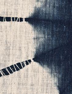 shibori detail