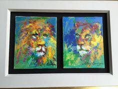 Original Lion and Lioness | Leroy Neiman