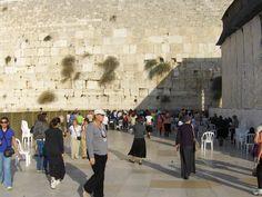 Praying at the Western Wall Jerusalem