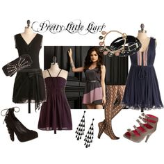 """""""Style Inspiration: Aria from """"Pretty Little Liars"""""""" by modcloth on Polyvore"""