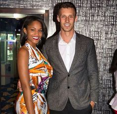 Gorgeous interracial couple walking the red carpet #love #wmbw #bwwm