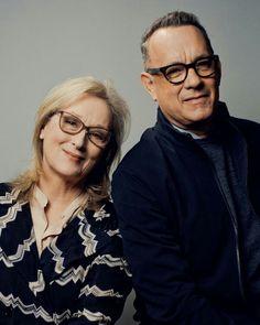 Maryl Streep and Tom Hanks.