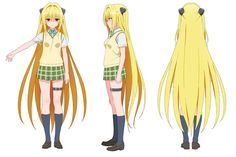 Character Model Sheet, Female Character Design, Character Modeling, Character Art, Female Characters, Anime Characters, Motto To Love Ru, Character Turnaround, To Love Ru Darkness