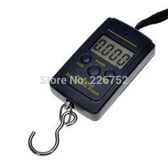 Pocket Electronic Digital kitchen Scale 0.01g * 40kg Hanging Luggage Weight Balance Libra Steelyard Kg Lb OZ