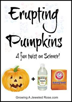 Erupting Pumpkins Experiment for Kids kid-stuff