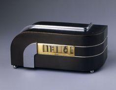 Zephyr, model no. 304-P40 clock designed by Kem Weber, 1934