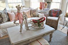 Savvy Southern Style: Christmas Sunroom 2014
