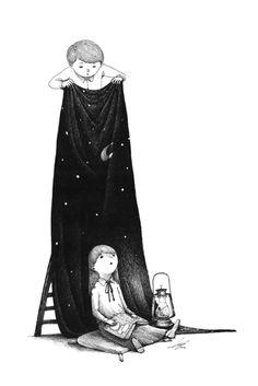 A sensibilidade nas ilustrações de Sungwon. ~ Pêssega d'Oro