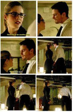 Arrow - Oliver & Felicity #2.21 #Season2 #Olicity