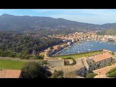Amazing Video: flying over Porto Ercole in the Argentario, Tuscany