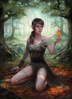The Eternal Forest by depingo.deviantart.com on @deviantART