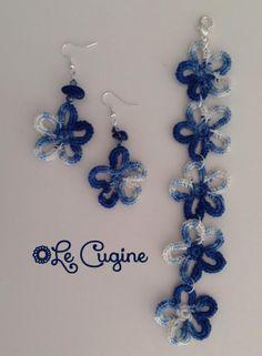 Lecuginecreazioni#handmade#crochet#parure#fiori