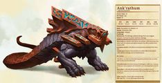 saved by Brangus2 Dnd Dragons, Dungeons And Dragons 5e, Dungeons And Dragons Homebrew, Fantasy Monster, Monster Art, Creature Concept Art, Creature Design, Fantasy Creatures, Mythical Creatures