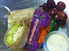 A grab and go option for students who leave the cafeteria at lunch, but still want a nutritious meal. Ashland, MA Public Schools use chicken roasted in the school on these whole wheat wraps.