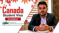 Canada Student Visa Invitation - University of Northern British Columbia... Best University, British Columbia, Canada, Student, Invitations, Education, Teaching, Onderwijs, Invitation