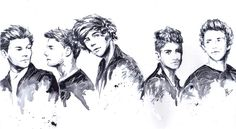 One Direction by dariemkova.deviantart.com on @deviantART