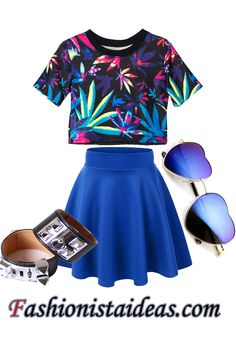 Cute Summer Outfit Ideas for teen #Outfit #Summer