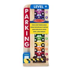 Buy Melissa & Doug Stack and Count Parking Garage Playset at Argos. Thousands of products for same day delivery or fast store collection. Wooden Car, Wooden Toys, Ri Happy, Garage, Early Math, Melissa & Doug, Activity Toys, Parking, Play To Learn