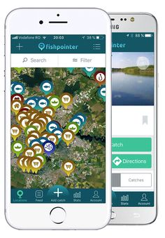 Fishpointer - live maps for fishing, tagged locations, catches and Fishing Maps, Live Map, Mobile App, Everything, Gadgets, Tags, Reading, Word Reading, Reading Books