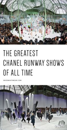The 11 most epic Chanel runway shows EVER
