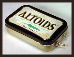 Liquorice ALTOIDS Speaker by MintyGear.com, via Flickr