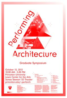 Performing Architecture.