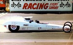 Tony Nancy Wedge Plymouth Dragster