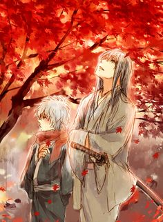 Sakata Gintoki & Yoshida Shoyo