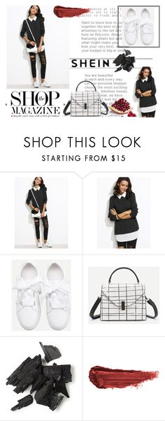 """""""shein 2/X"""" by obsessedwithnicestuff ❤ liked on Polyvore featuring WithChic and By Terry"""