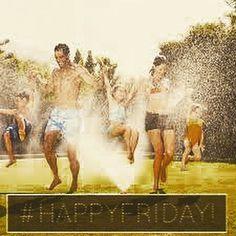 Hadi #HaftaSonu na az kaldı! Bu sıcakta en güzel aktivite sulu şakalar ve eğlenceler olsa gerek;))) #SerinlemekİçinNeYapmalı #HappyFriday #HappyFuture #Funday #FF #GelecekGüzelGelecek
