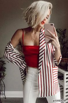 Product Name:Stripe Open-Front Blazer, Category:CLEARANCE_ZERO, Price:48
